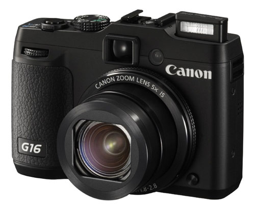 Fotografia della Canon PowerShot G16