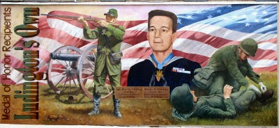 Ludington, Michigan, Medal of Honor mural