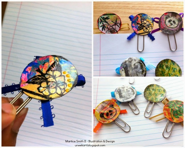 Collection of Brilliant Paper Clips by Martice Smith II