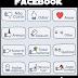 Novos botões para Facebook