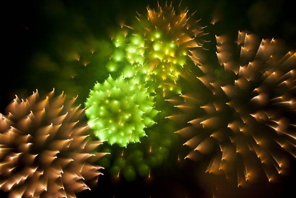 david johnson fotografia longa exposição foco fogos de artifício ouriços espinhos