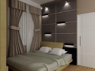 kitchenset pelangi desain interior kamar tidur tamu