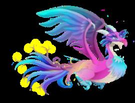 imagen del dragon paraiso adulto