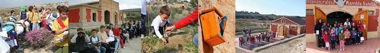 Programa educativo de las Salinas de Rambla Salada