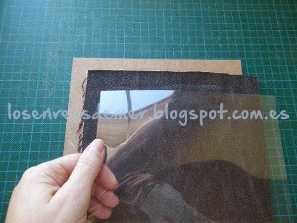 Piezas para componer el marco de la fotografía