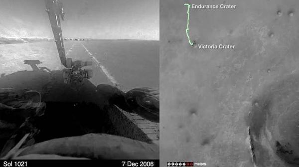 El robot Opportunity se prepara para su séptimo invierno en Marte