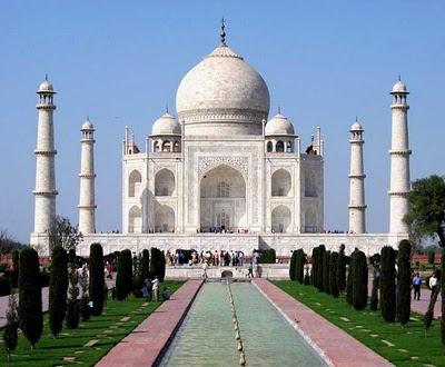Taj-Mahal di Agra, India