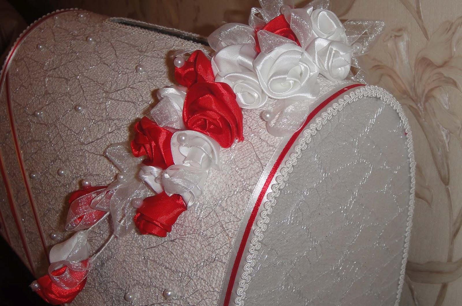 Оформление казны на свадьбу
