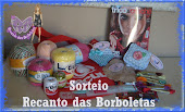 sorteio  blog recanto das borboletas