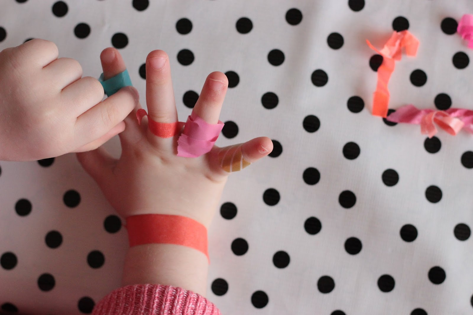 masking tape jeu pour enfant