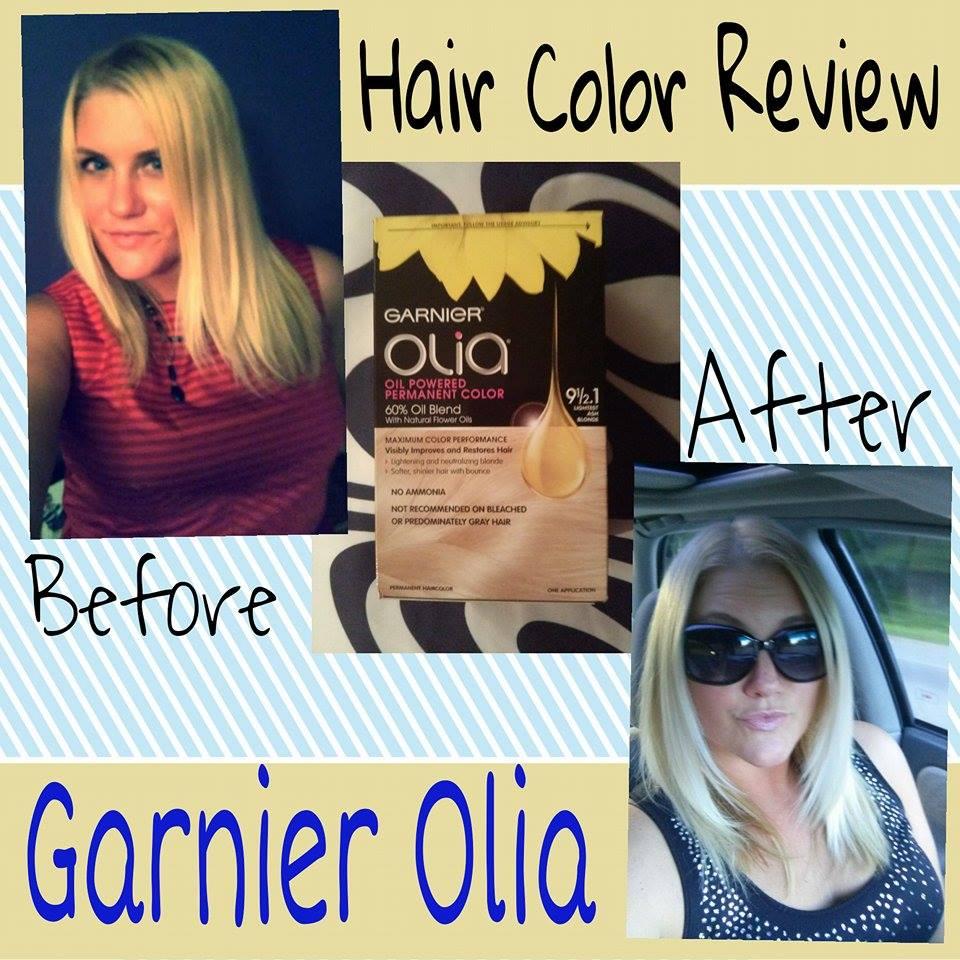 Hair Color Review Garnier Olia