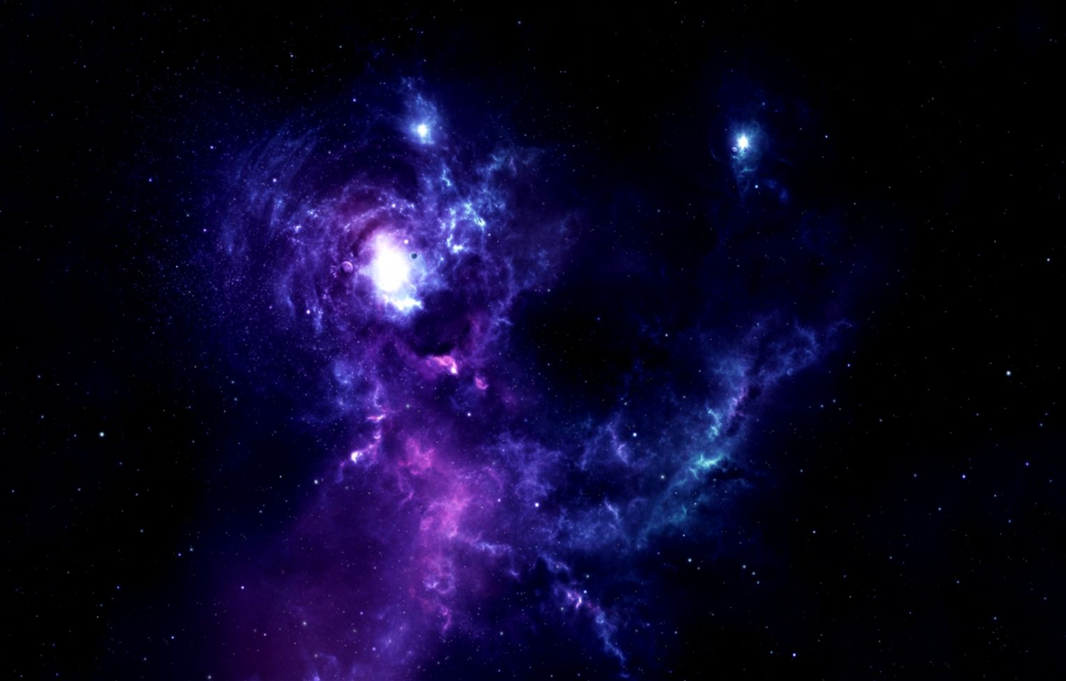 View Original Size 1280x800 Space Purple Blue Nebula Wallpaper Image Source From This