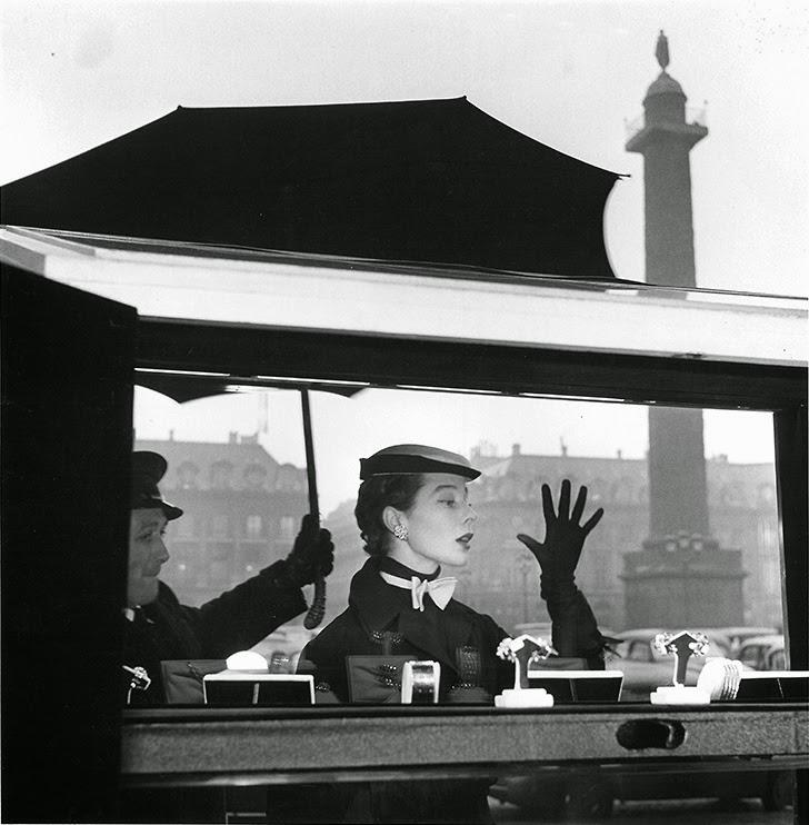 Bettina, Parigi, 1953, Foto di ©Jean-Philippe Charbonnier