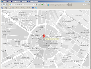 How to style, Styled, Google maps, gray style, embedded gray
