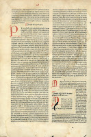 Título: Biblia latina. Autor: Nicolás de Lira