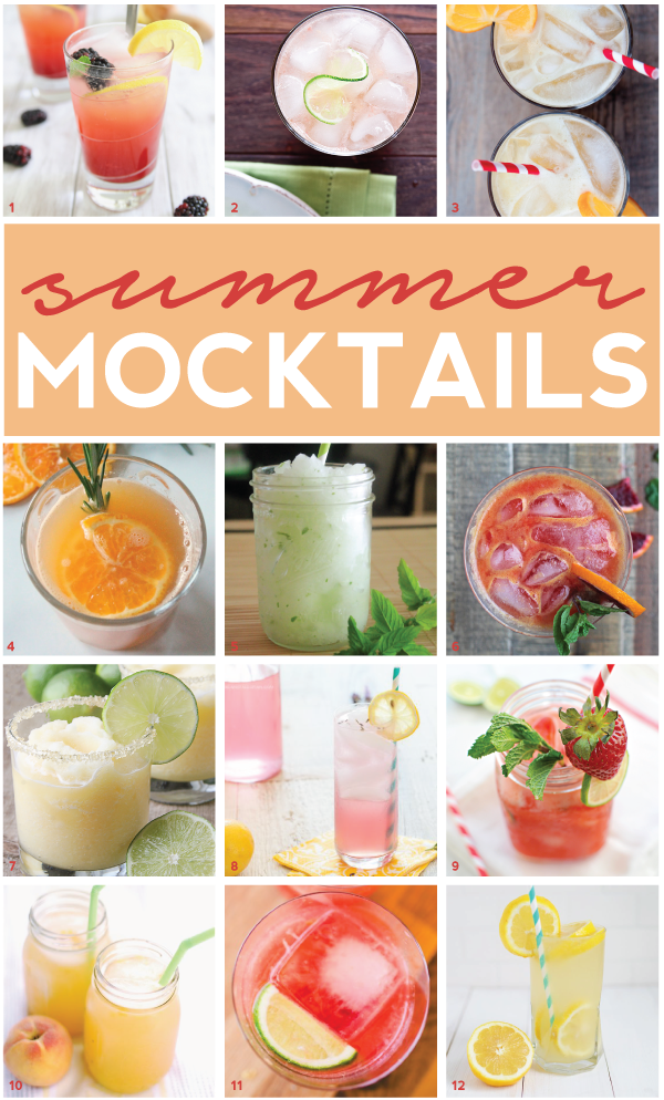 a summer mocktail round-up!