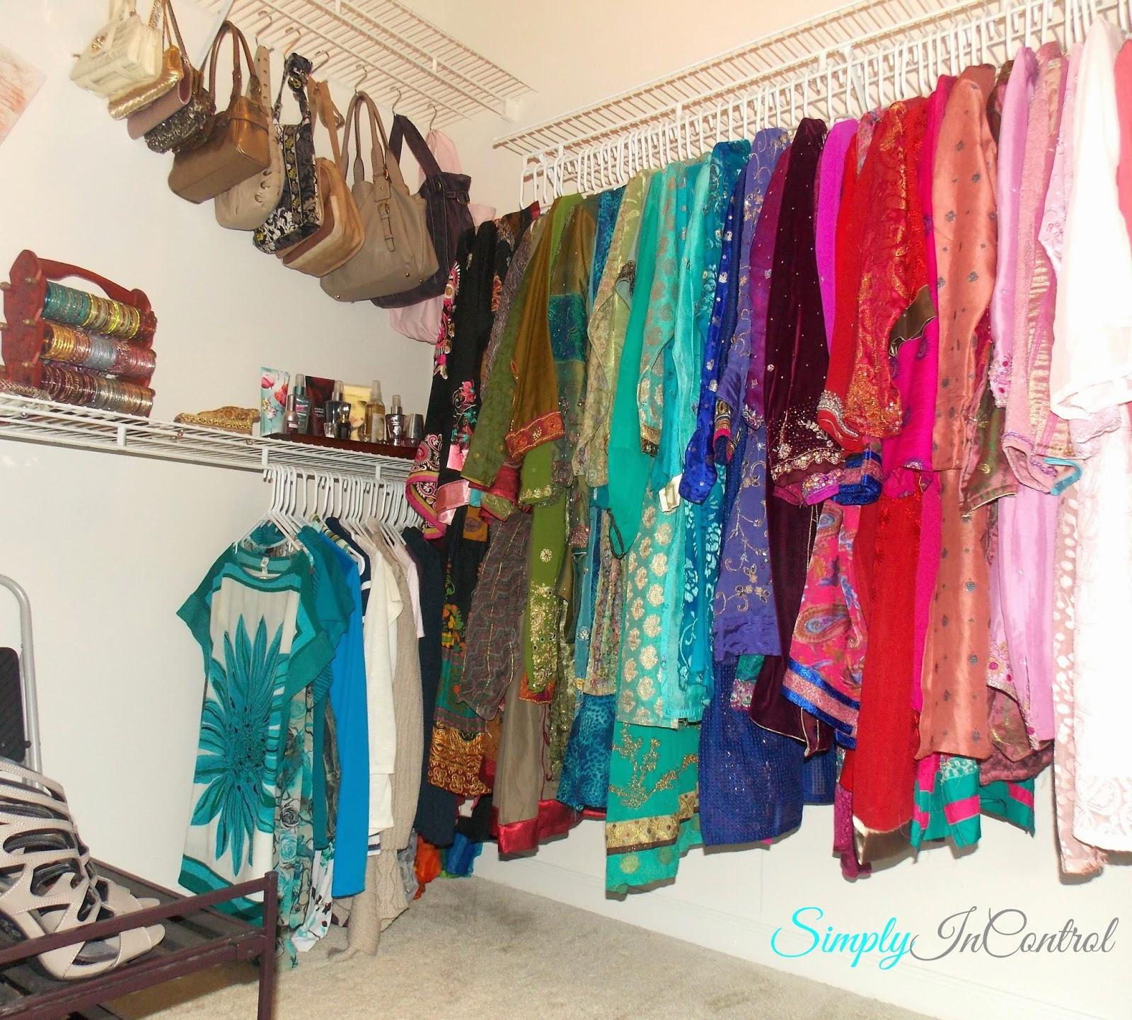 Simply In Control: Closet Organization