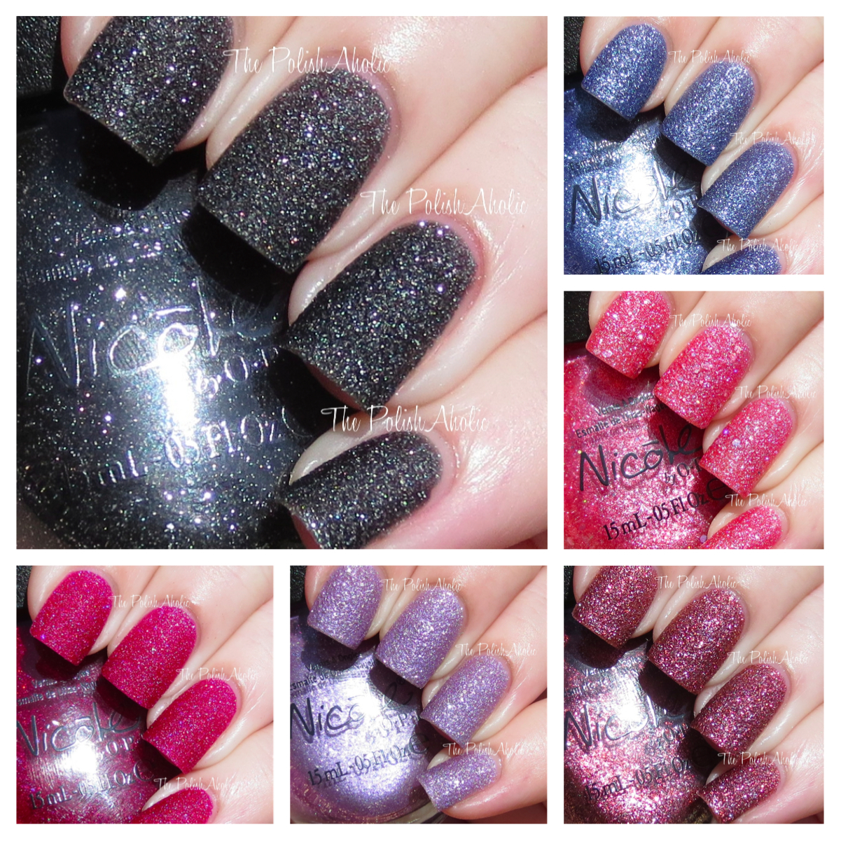 The PolishAholic: Nicole by OPI Gumdrops Collection Swatches