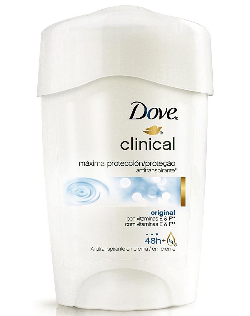 Dove lança antitranspirante Clinical que garante máxima proteção por 48 horas contra transpiração excessiva!