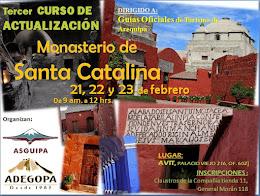 Curso: Monasterio Santa Catalina