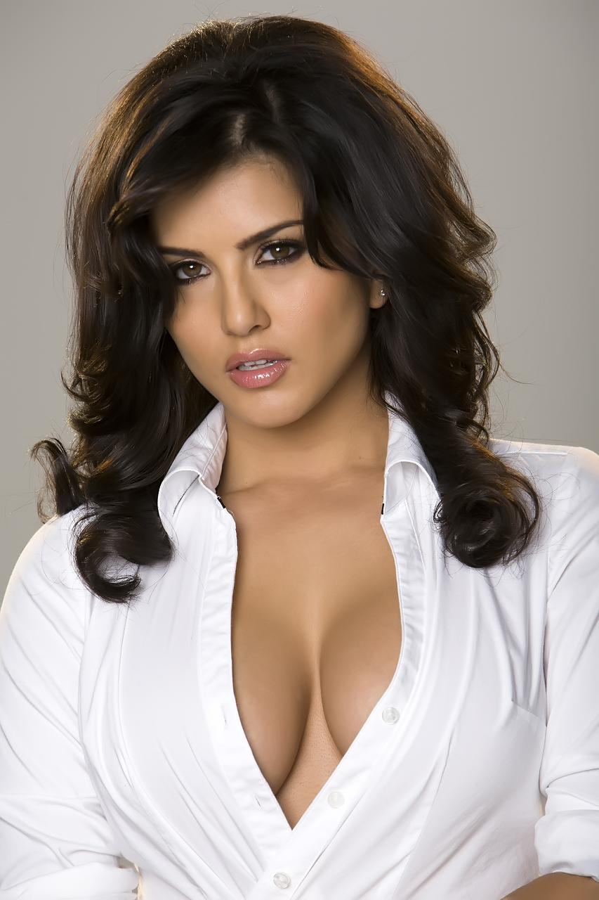 Not tell Sunny Leone nude white shirt apologise