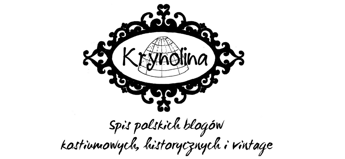 Spis polskich blogów kostiumowych, historycznych i vintage.