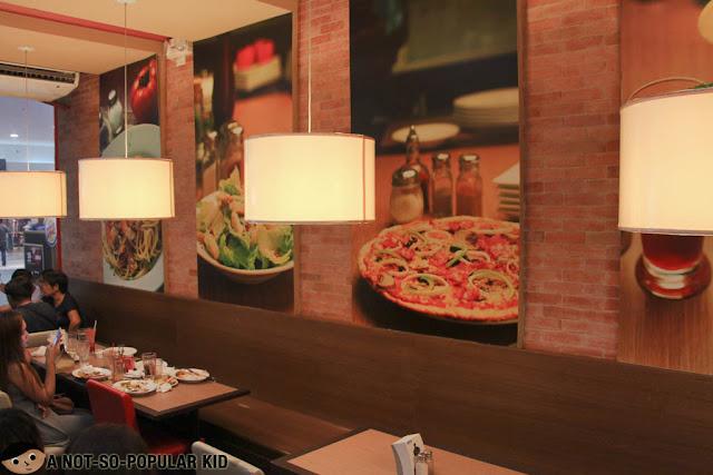 Interior of Gotti's Ristorante