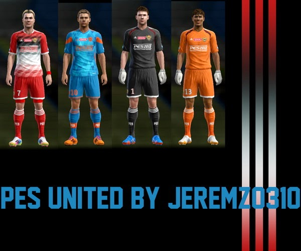PES 2013 PES United Kits by JEREMZ0310