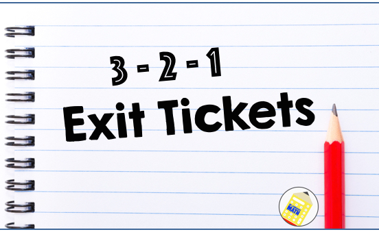 Who'S Who And Who'S New: 3 2 1 Exit Tickets