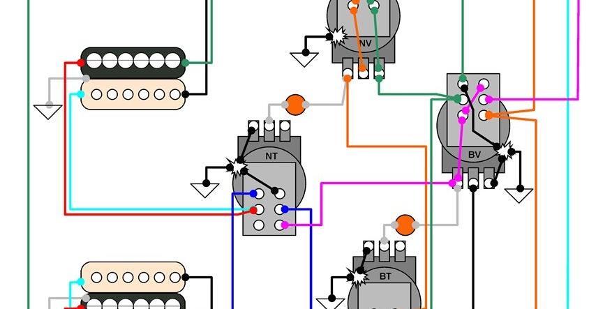Hermetico    Guitar     Wiring    Diagram     Hermetico s LP Exchanger mod 2