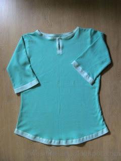 turquoise shirt   wesens-art.blogspot.com