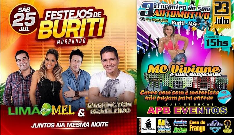 FESTEJOS DE JULHO 2015