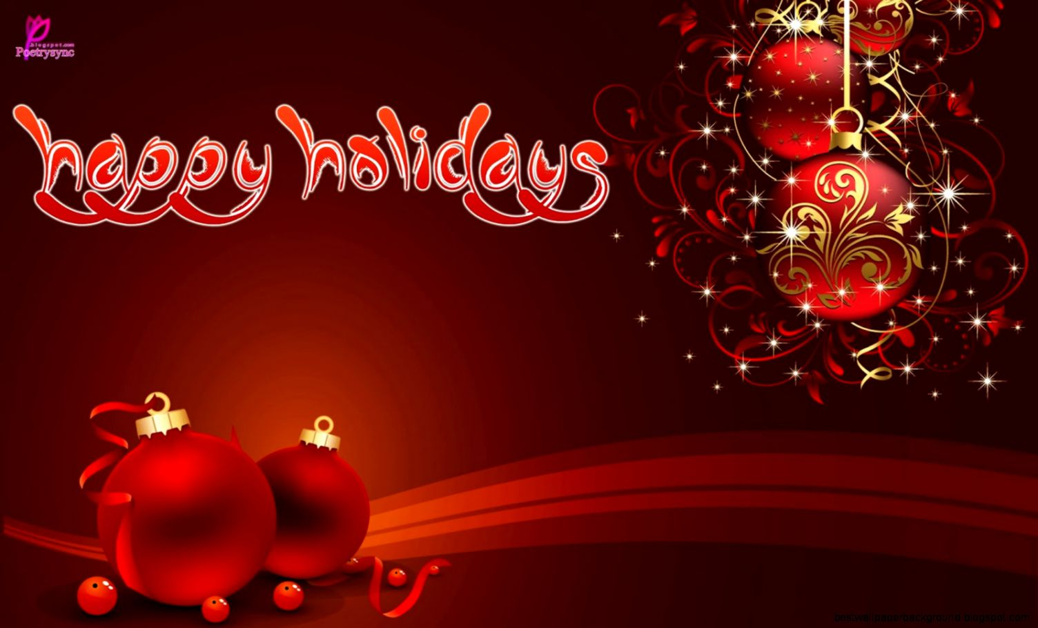 Happy Holiday Wishes Sayings Best Wallpaper Background