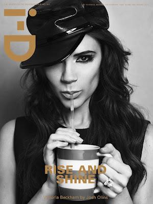 Victoria Beckham en couv' d' i-D Magazine