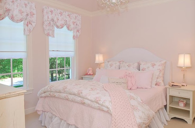 French country style romantic home decor forget the for Country girl bedroom ideas