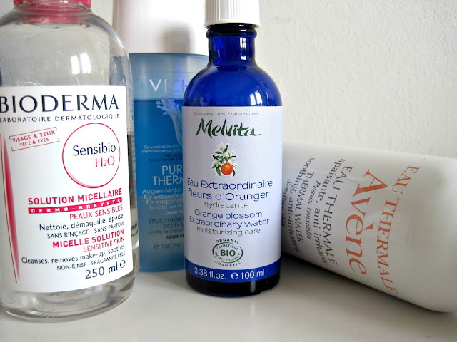 bioderma sensibio micellar water vichy makeup remover purete thermale avene thermal water face spray melvita orange blossom extraordinary water review