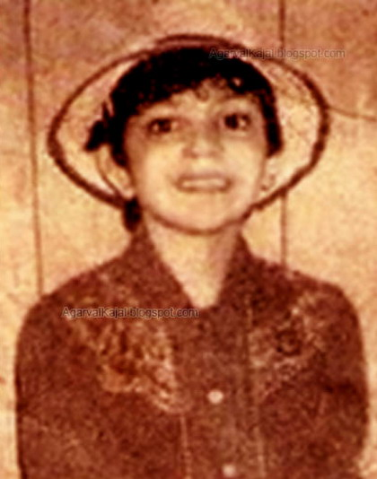 Kajal Agarwal Childhood Photos ~ jiah khan unseen ... Childhood Photos Of Kajal Agarwal