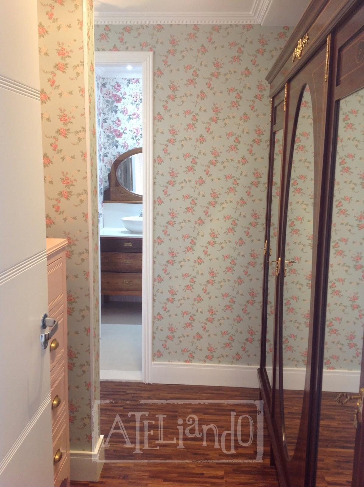 Customização de móveis antigos: Closet e banheiro customizados #866945 1195x1600 Banheiro Com Closet E Banheira