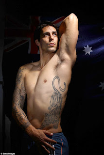 Mitchell Johnson Tattoo Designs - Celebrity Tattoo Ideas