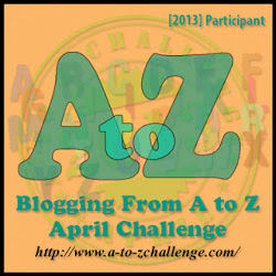 I Finished The  2013 A-Z Challenge!