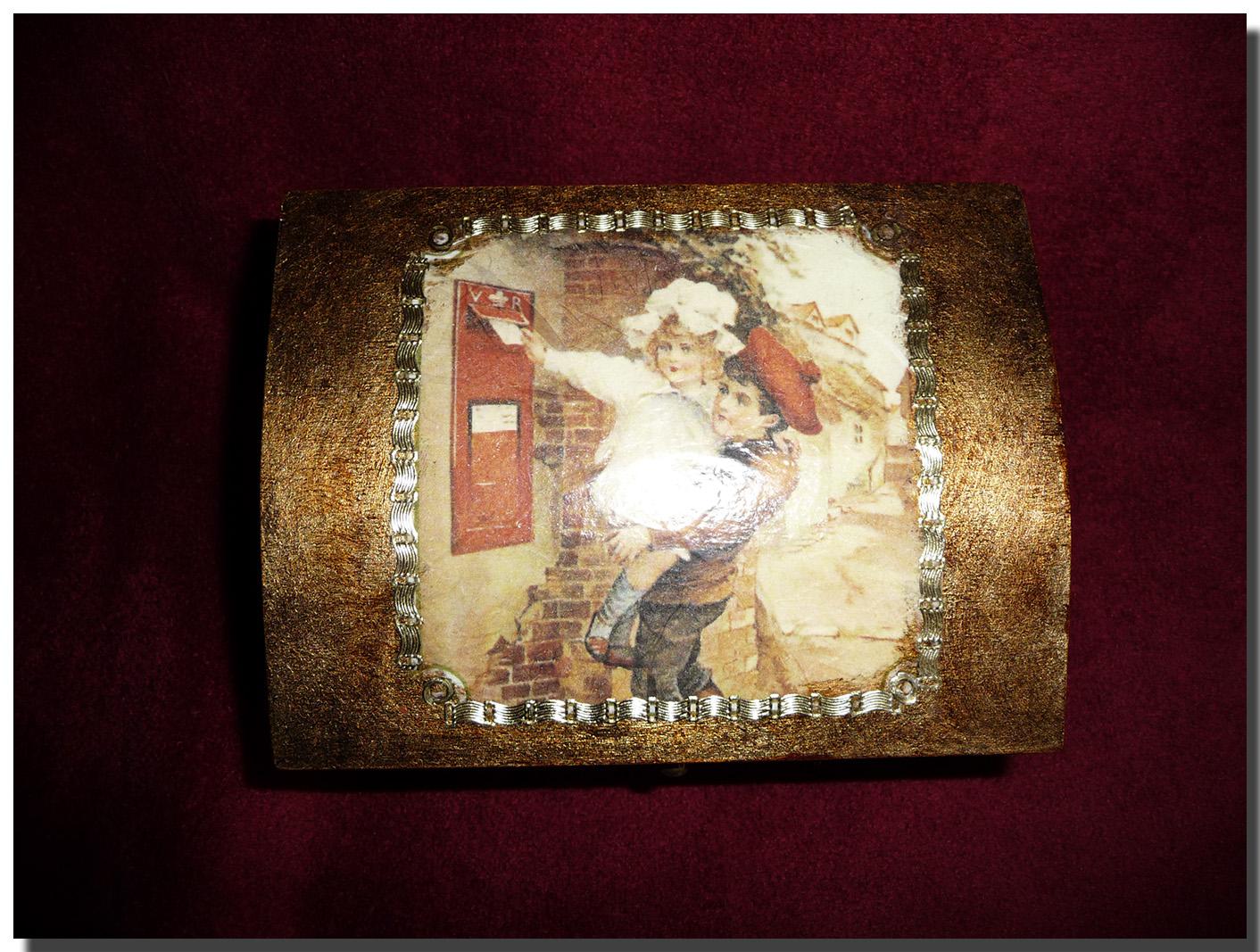 Las manualidades de blanca cajas de madera - Cajas de madera manualidades ...