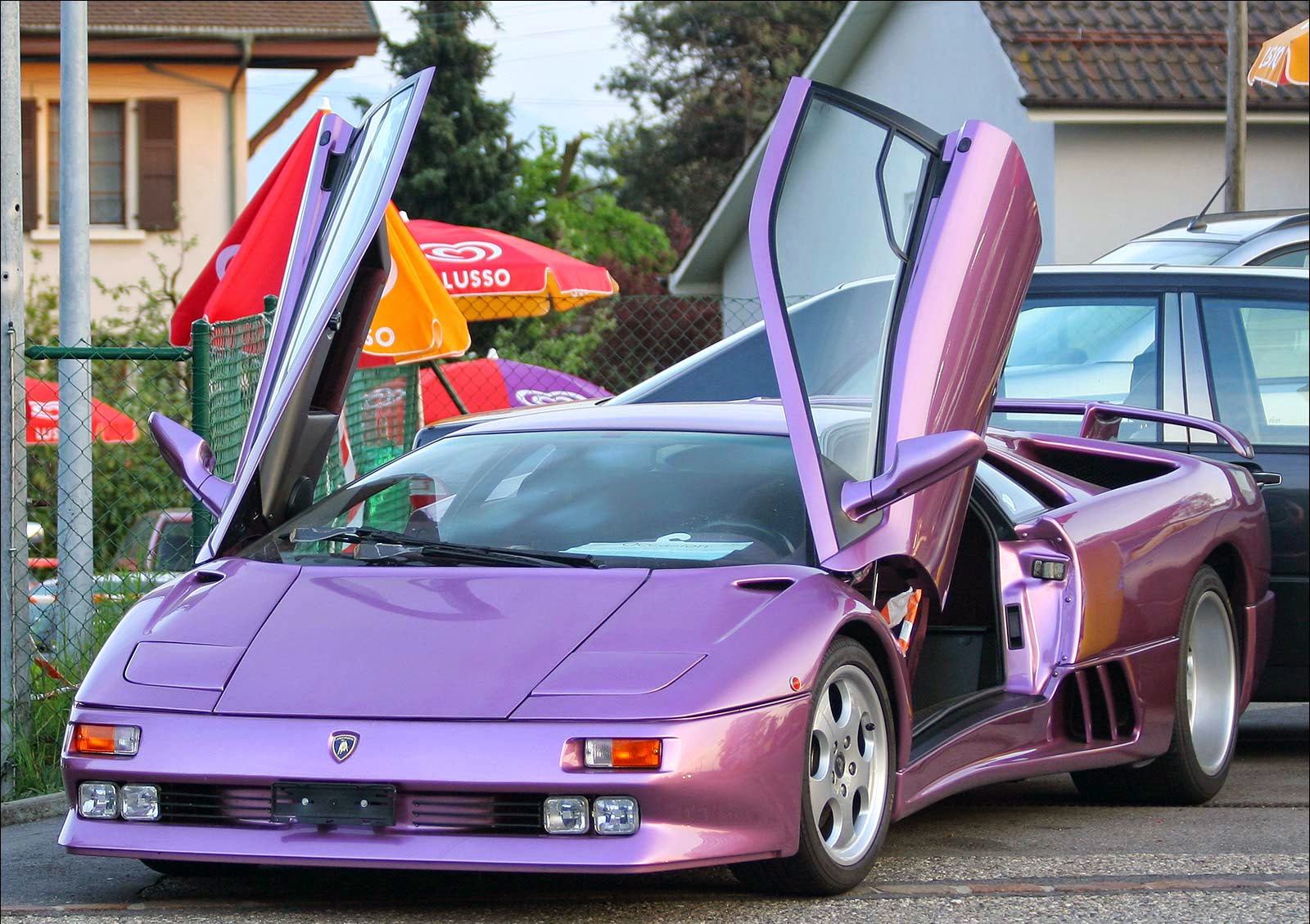 The Diablo was the fastest car in production when it was released in 1990.