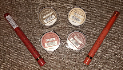 L'Oreal Infalliable Eyeshadows and Colour Riche Lipcolour Sticks