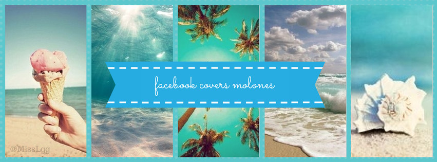 facebook cover molones summer verano blue
