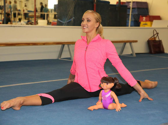 NickALive!: Five-Time Olympic Medal Gymnast And Role Model ... Nastia Nickel