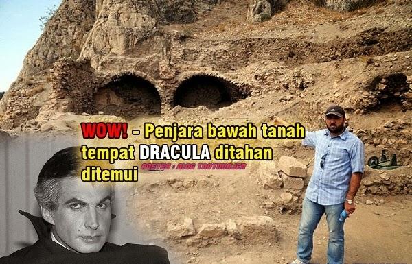 WOW Penjara bawah tanah tempat Dracula ditahan ditemui 3 GAMBAR