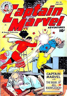 Captain Marvel Adventures 93 cover