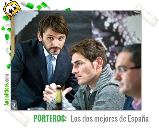 Chiste de Eurocopa: Los mejores Porteros de España