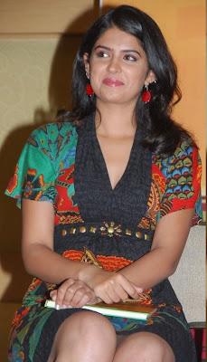Deeksha Seth Hot Leg Show Latest Photos