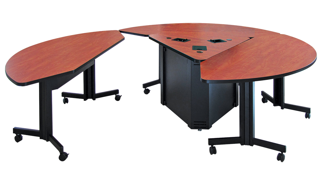 Collaborative Classroom Tables : Round collaboration table genius